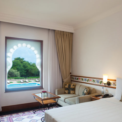 Trident Udaipur room with a view