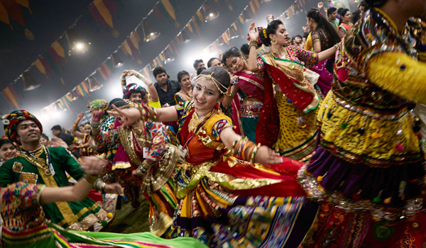 Navratri is one of India's most ebullient festivals © Gujarat Tourism