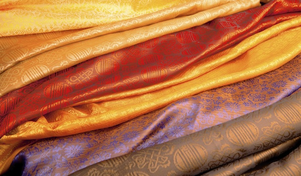 Color Indian fabric