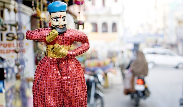 Indian puppet doll