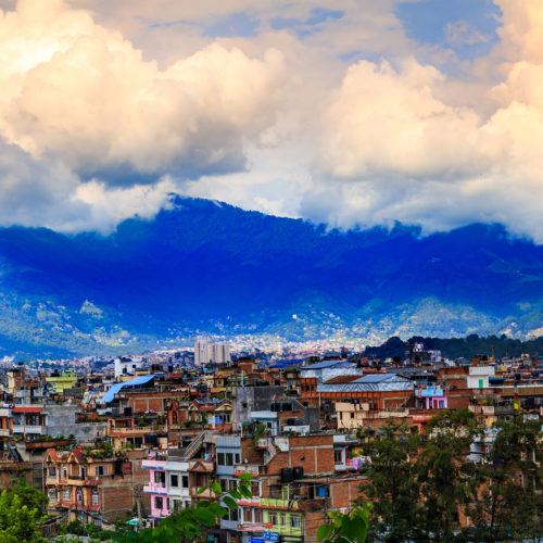 landscape of kathmandu