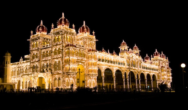 mysore-palace-at-night_shutterstock_gary-yim