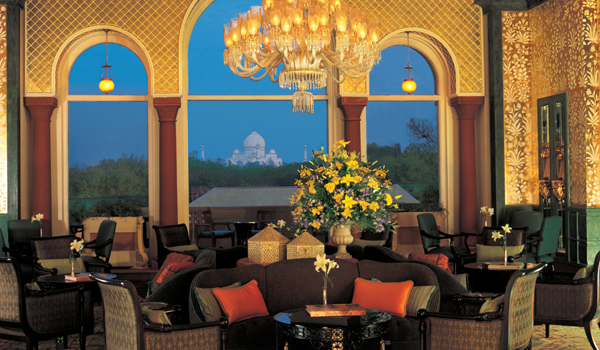 Guests at the Oberoi Amarvilas have views of the Taj wherever they go © Oberoi Hotels and Resorts