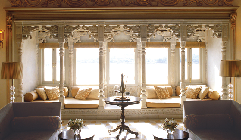 Honeymoon destinations in India | Taj Lake Palace