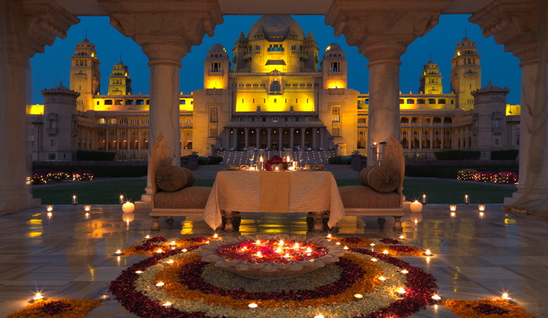 Honeymoon destinations in India | Umaid Bhawan Palace