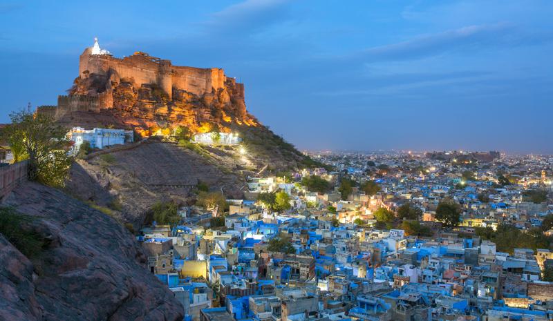 Landmarks in India | Mehrangarh Fort