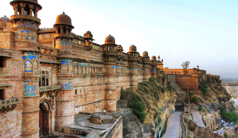 Landmarks in India | Gwalior Fort