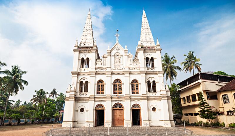 Landmarks in India | Santa Cruz Basilica