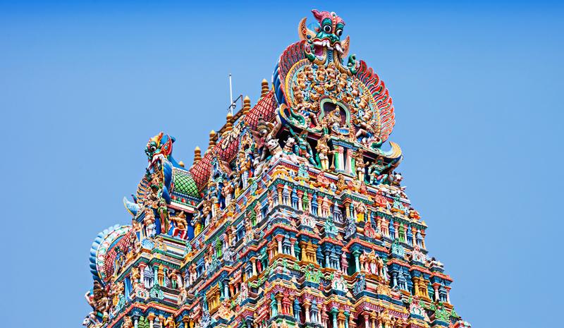 Landmarks in India | Meenakshi Temple