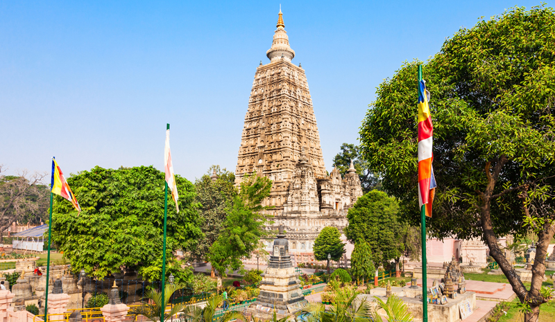 Landmarks in India | Mahabodhi Temple