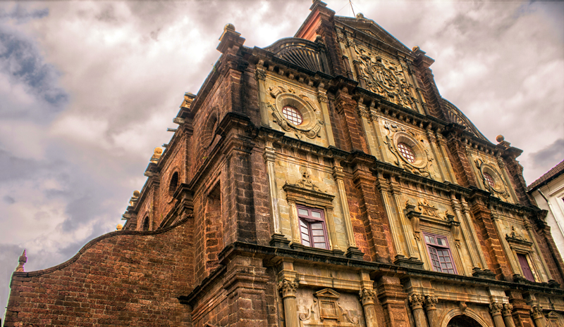 Landmarks in India | Basilica Bom Jesus