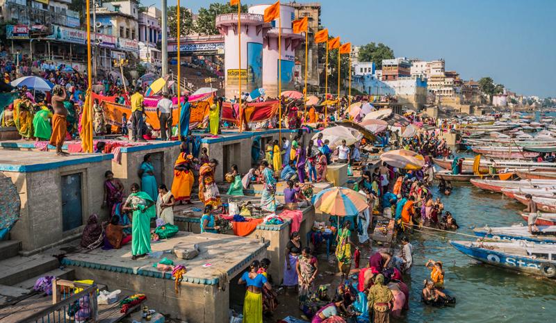 Landmarks in India | Varanasi Ghats