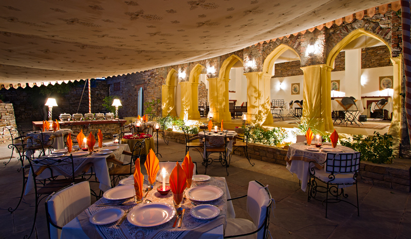 Ramathra Fort | Outdoor Dining