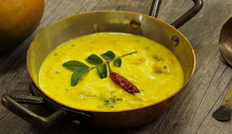 Traditional Keralan Dishes | Pacha Manga Curry