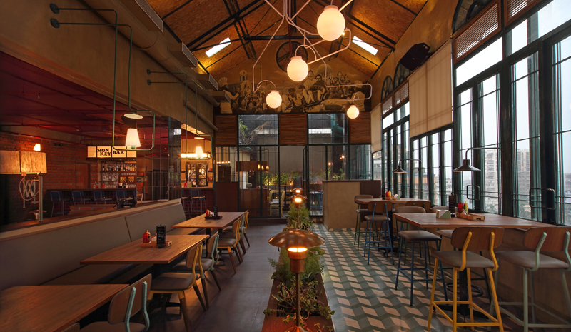 Best Restaurants in India | Monkey Bar