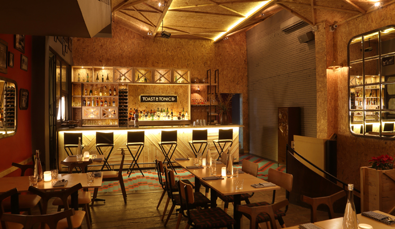 Best Restaurants in India | Toast And Tonic