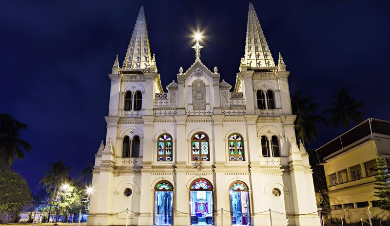 Christmas in India | Santa Cruz Basilica