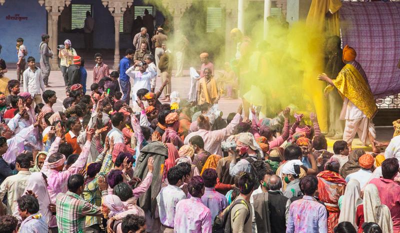 Where to Celebrate Holi | Mathura