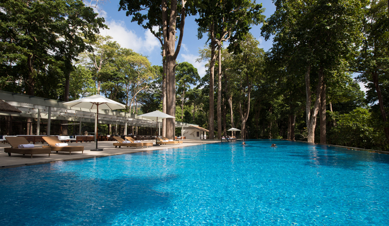 Tour of the Andaman Islands | Taj Pool