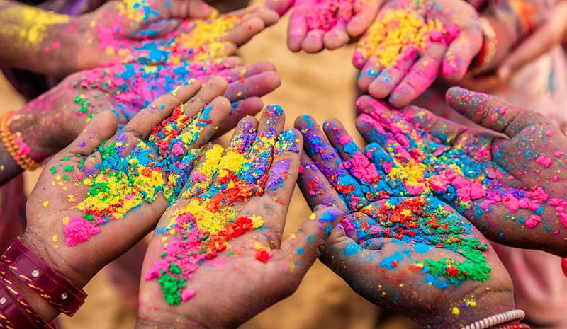 Where to Celebrate Holi | color