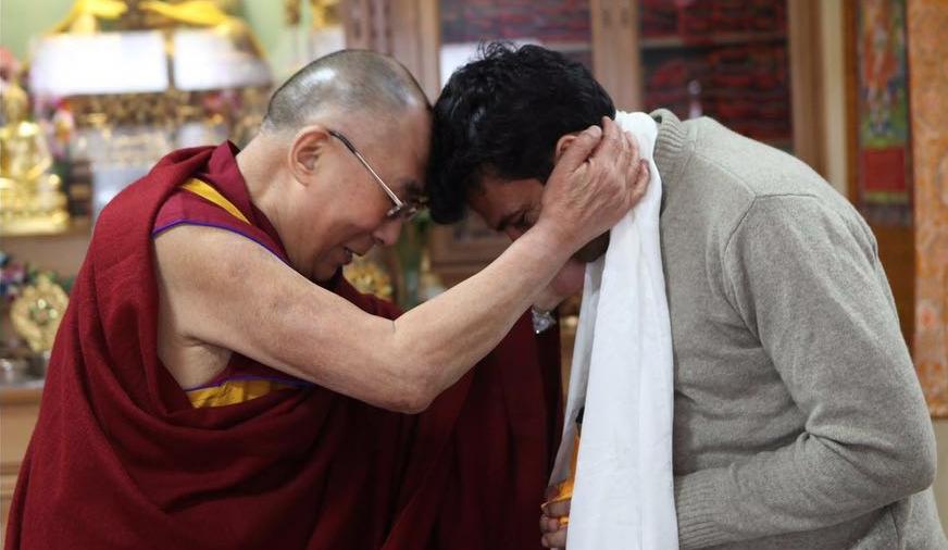 Vikas Khanna | Dalai Lama