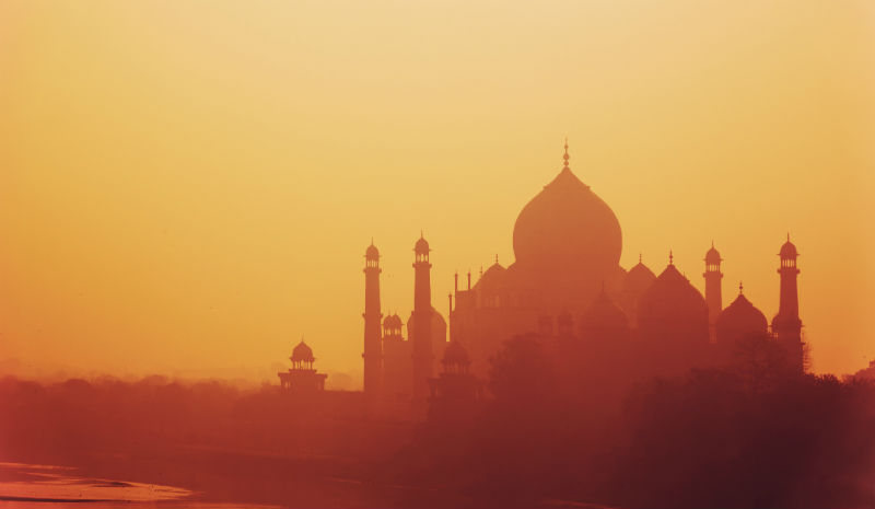 Travel Apps for India | AudioCompass Taj Mahal