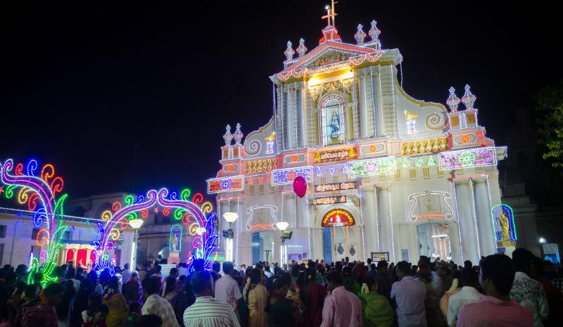 Christmas in India | Pondicherry