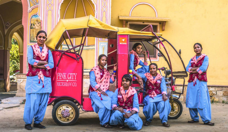 Indian Not for Profits | Pink City Rickshaw Company 1