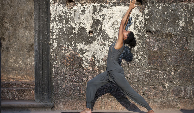 Yoga in Delhi | pose