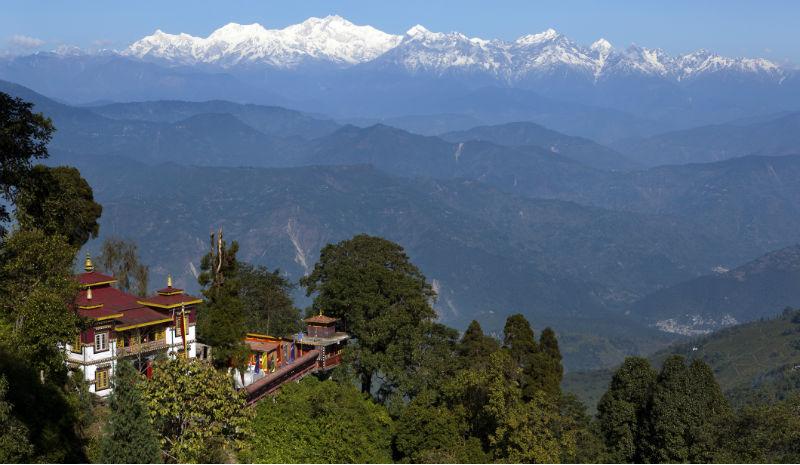Darjeeling Temple | Bhutia Busty Gompa