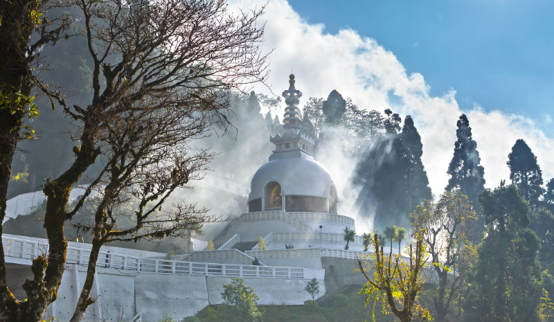 Darjeeling Temple | Peace pagoda