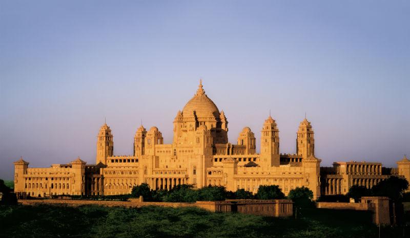 Honeymoon Destinations in India | Umaid Bhawan Taj