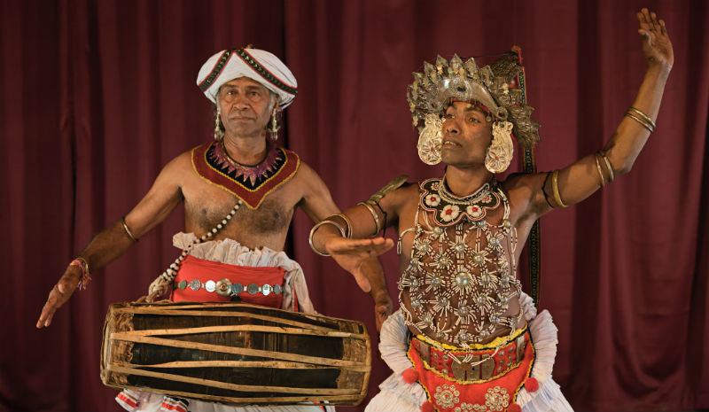 What to do in Kandy | Kandyan dancer