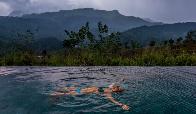 What to do in Kandy | Santani swim