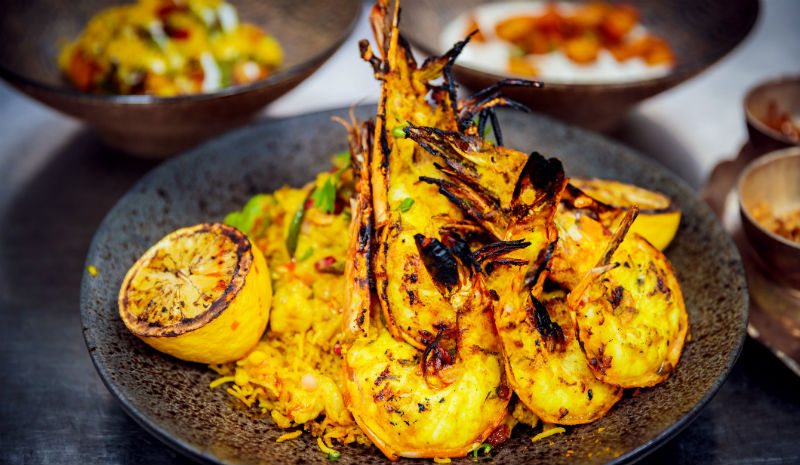 Best Restaurants in Mumbai | Prawn biryani