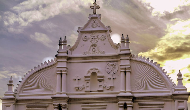 Things to do in Fort Kochi | White church