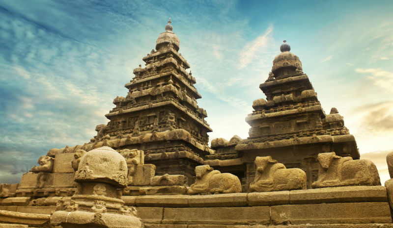 Best Beaches in India | Mahabalipuram tamilnadu temple