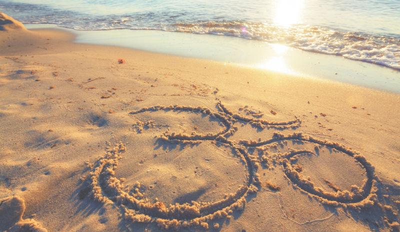 Best Beaches in India | Om symbol