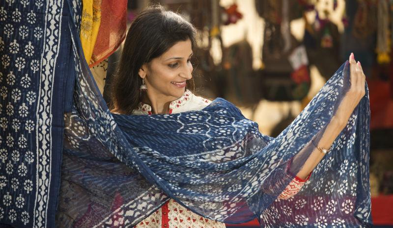Jaipur Shopping | Sari Shopping