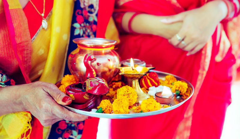 Temple Etiquette | Hindu prayer items