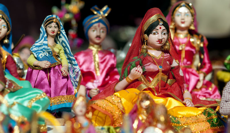 India with Children | Indian dolls