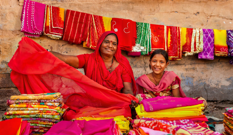 Things to do in Madurai | Indian women selling