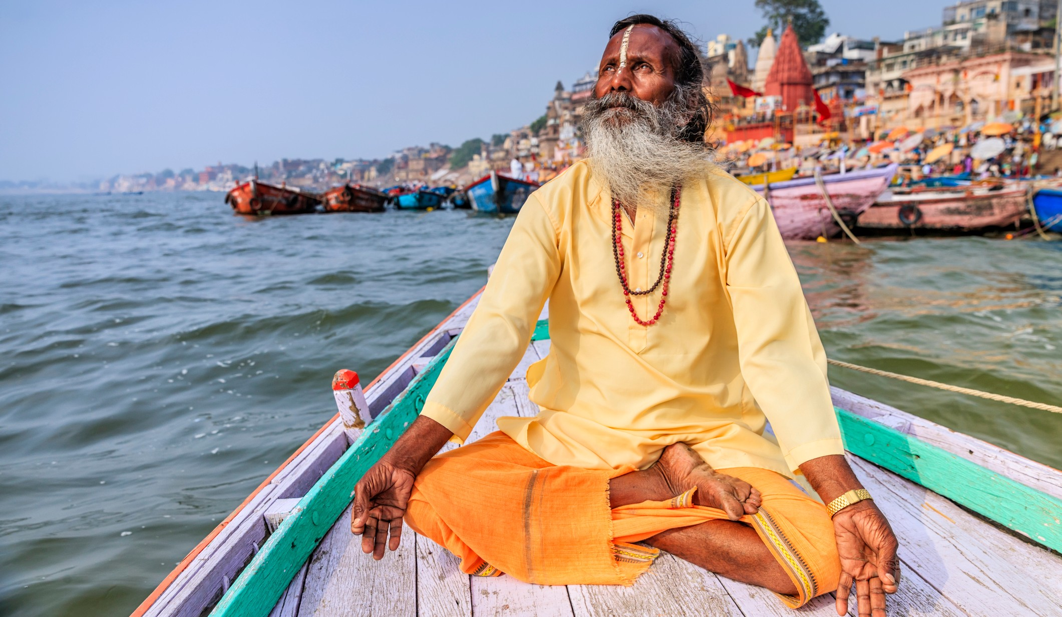 Holiest City in India | Sadhu