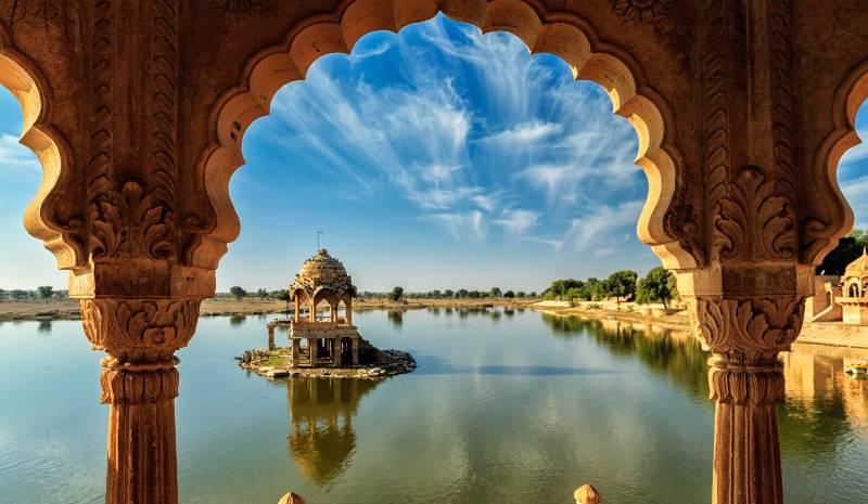 India off the beaten track Chhatrasagar