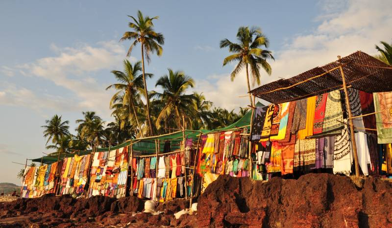 Shopping in Goa | Anjuna