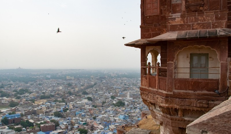 14 Indian Experiences | mehrangarh ziplining