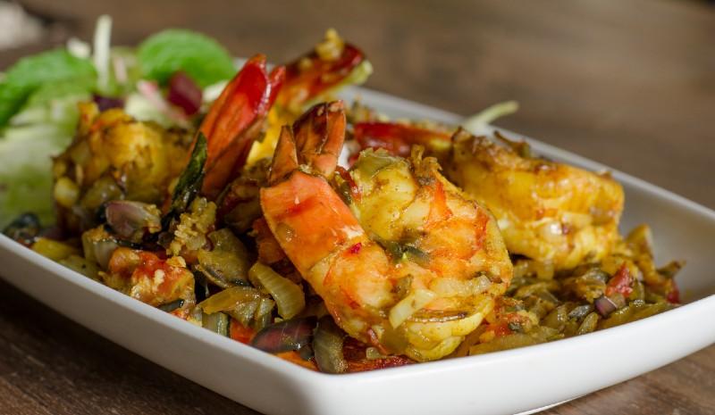 Best restaurants in Goa | prawns_credit Mum's Kitchen